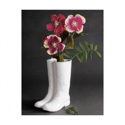 UMBRELLA STAND - RAINBOOTS WHITE