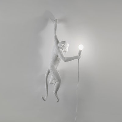 MONKEY LAMP WHITE - HANGING SX