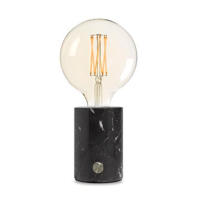 EDGAR - ORBIS Lamp black marble