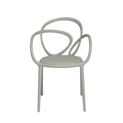 Loop chair met kussen set van 2